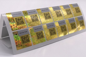Anti-Counterfeiting & Security Labels